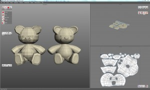 teddy bear 3d