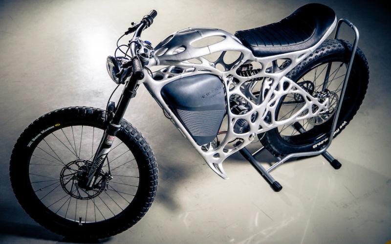 moto impressa em 3d max design