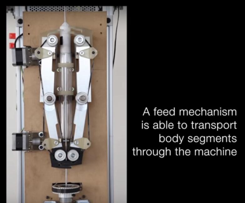 impressão 1d de robôs maxdesign bit corte impressão 3d