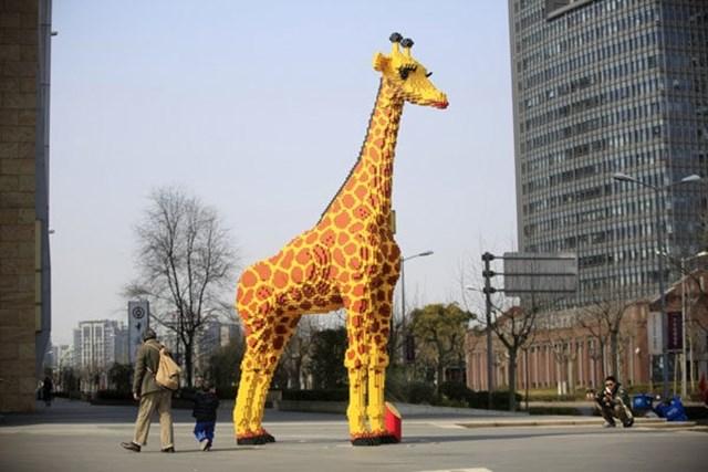 girafa lego